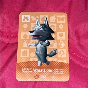 Homemade animal crossing wolf link